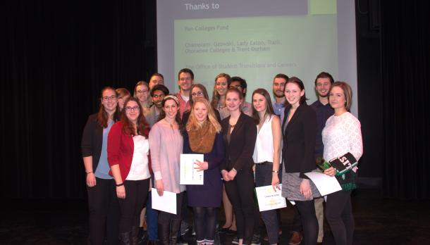 Three Minute Paper Competition Showcases Undergraduate Research at Trent