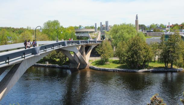 Faryon Bridge on Symons Campus, Peterborough