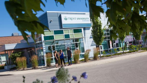Durham GTA trent campus filled with students attending Trent university