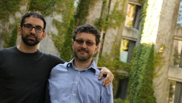 Dr. Philip Giurlando and Dr. Hasmet Uluorta