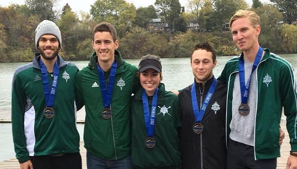 Bronze - Lightweight Men's Four – Matthew Dupuis, Jordan Hamilton, Dayton Kelly, Wesley Penny, cox Hailey Guertin