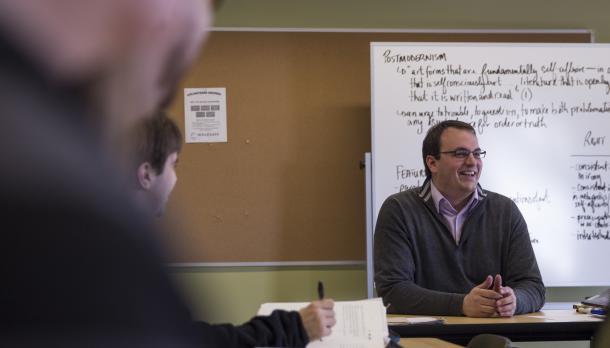 Photo of Professor Joel Baetz