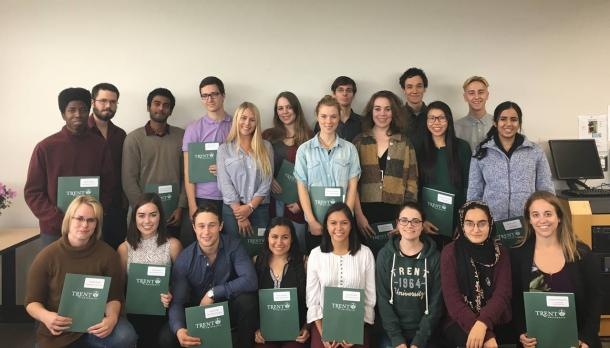 Biology, Biomedical & Biochemistry students receive a combined $14, 800 in scholarships & prizes