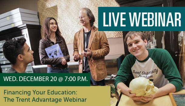 Live Webinar: Financing Your Education