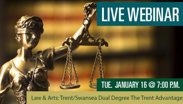 Law an Arts Webinar Banner