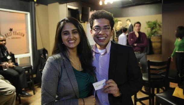 Ribbit cofounders at entrepreneurship week event