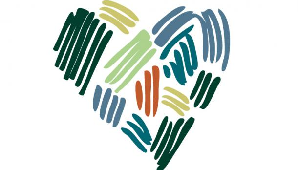 Day of Service Heart Logo