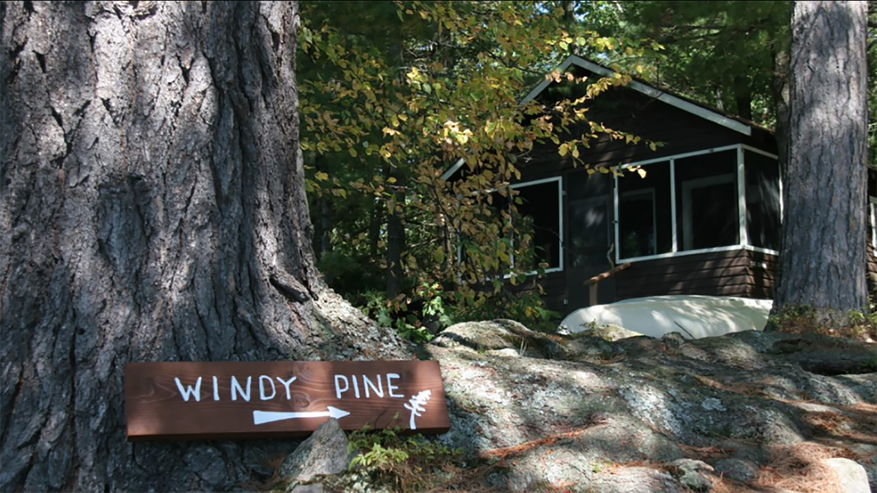 Windy Pine Point (now simply Windy Pine) camp for adolescent girls.