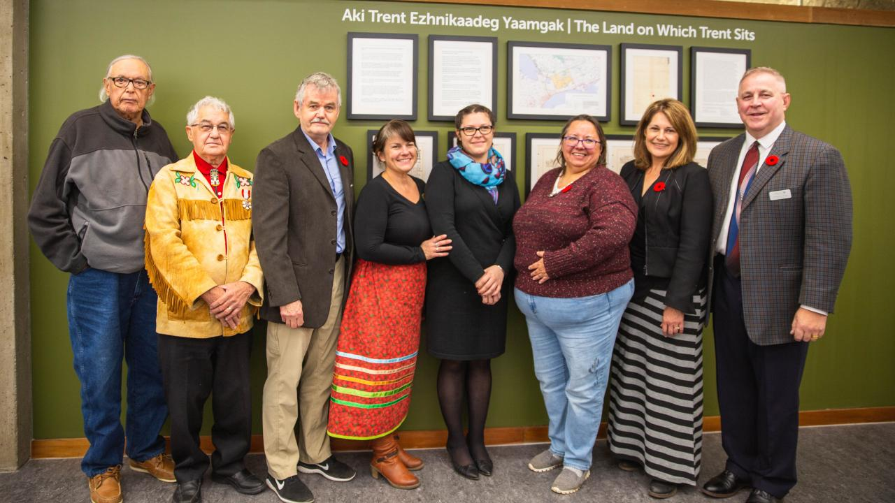 Treaty displays, honorific namings, and protocol guidebook unveiled at Trent University