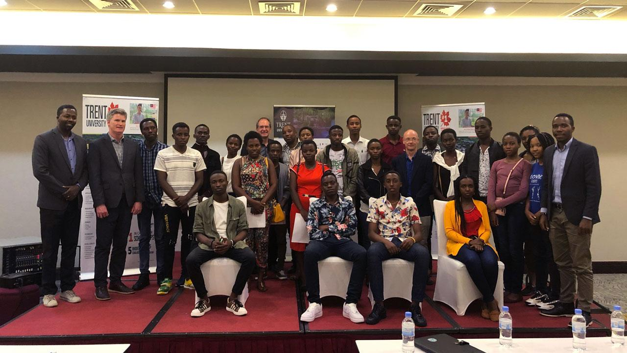 A delegation of faculty, led by Dr. Neil Emery, vice president of Research & Innovation, attended a series of meetings and events in Kenya and Rwanda