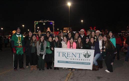Trent University Oshawa Joins Durham Community in Annual Parade of Lights