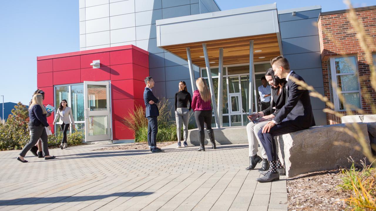 Trent University Durham GTA students