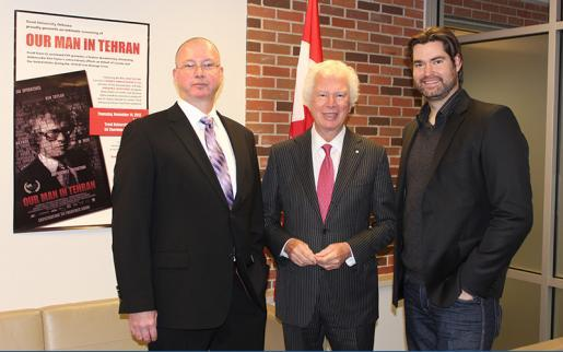 Our Man in Tehran Brings Canadian Hero to Trent Oshawa