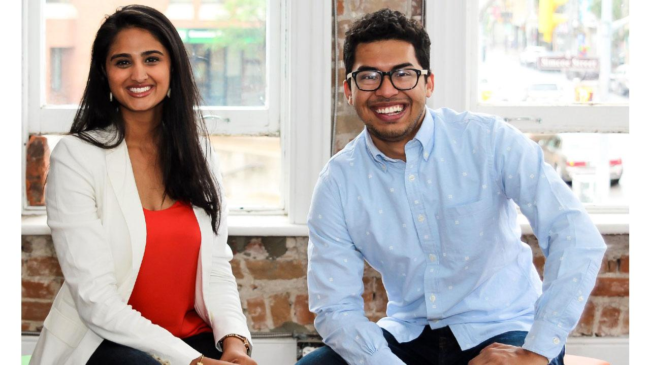 Ribat Chowdhury '11 and Sana Virji '12