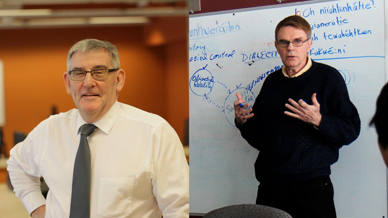 Left: Joe Muldoon, Right: Don McCaskill