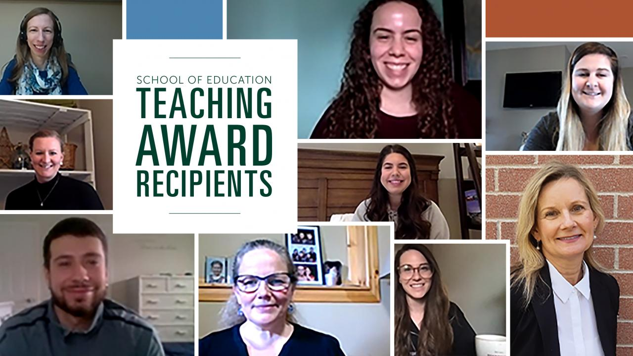 School of Education, Teaching Award Recipients, Trent University