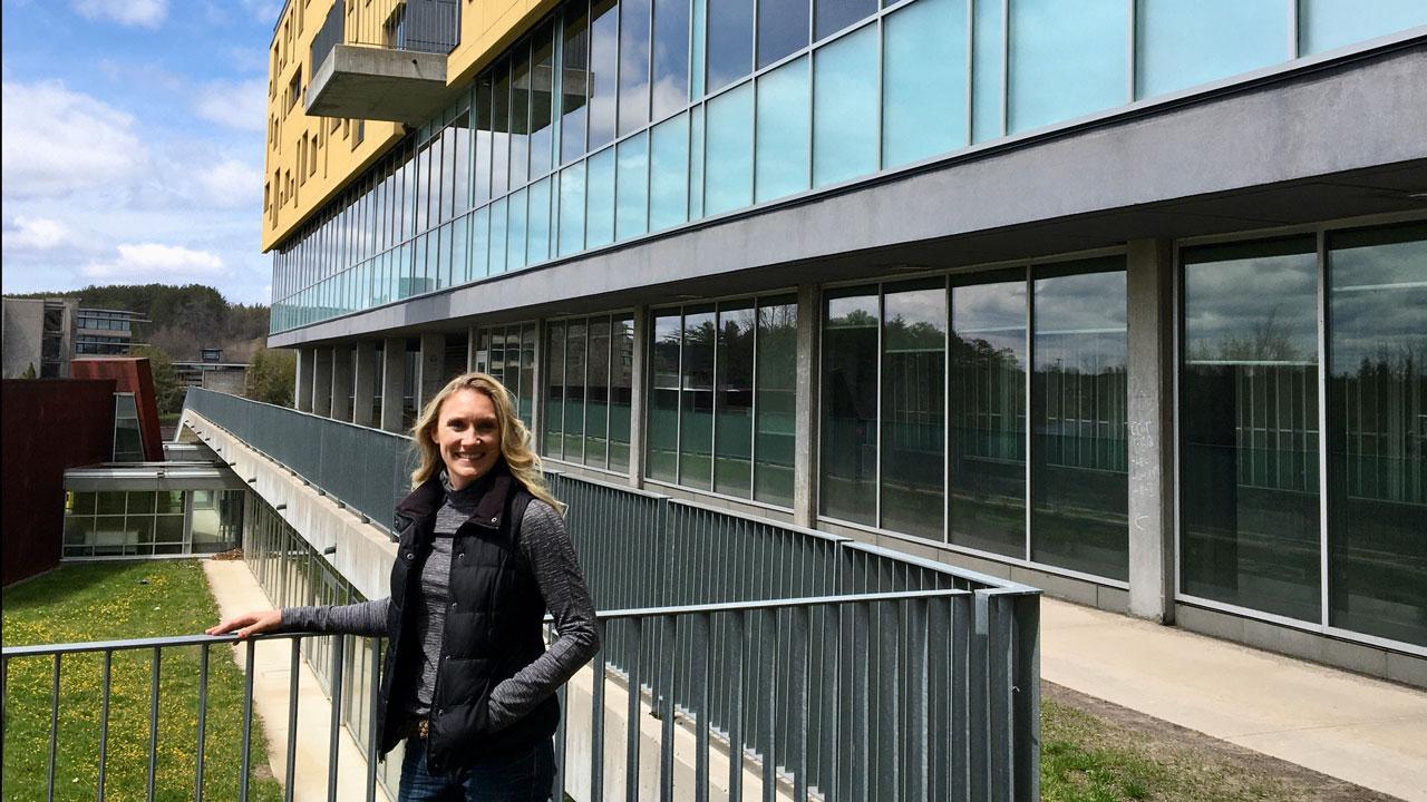 Trent alum and registered nurse (RN) at Peterborough Regional Health Centre (PRHC), Anna Harris