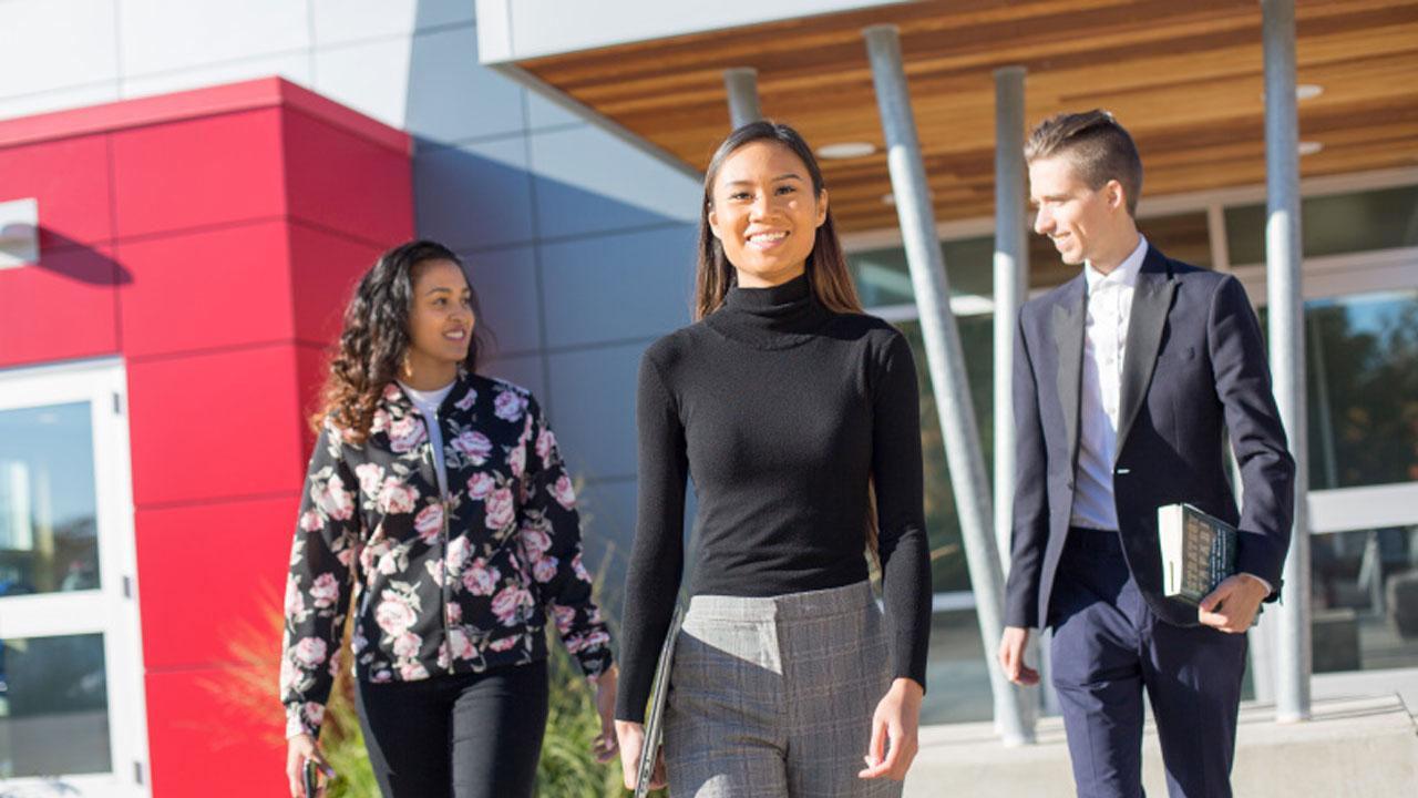 Trent University Business students.