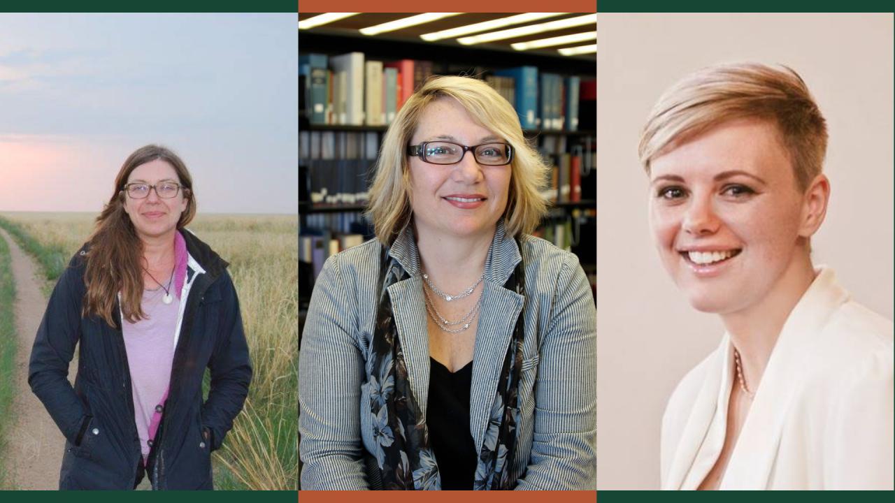 Trent researchers Dr. Lisa Janz, Dr. Cathy Bruce, and Dr. Karen L. Blair