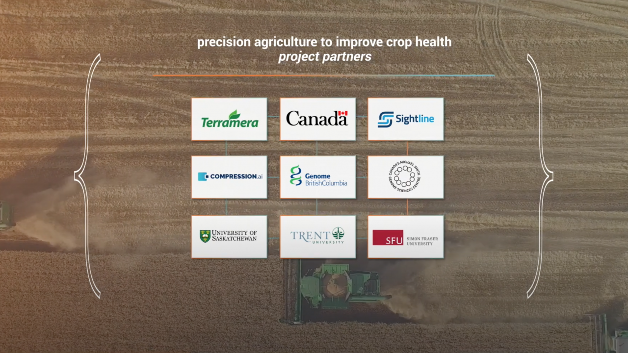 Precision agriculture to improve crop health project partners