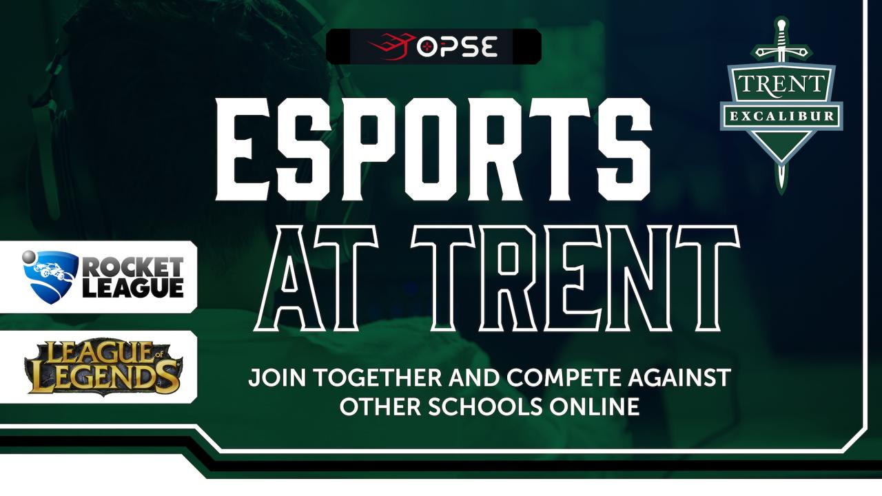Trent Excalibur E-Sports Poster