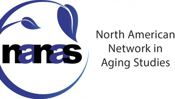 NANAS logo featuring a vine and black and blue lettering.