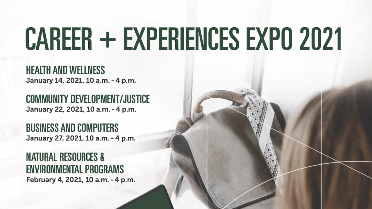 Career & Experiences Expo 2021