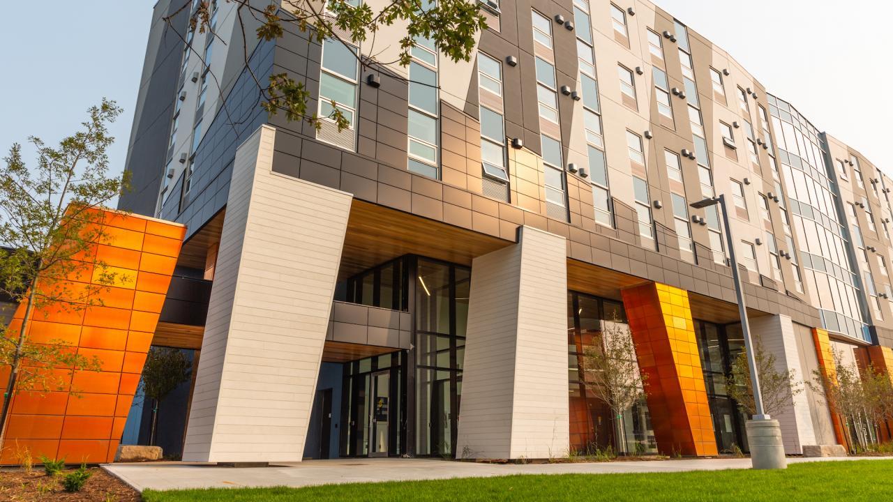 Trent University Durham GTA's new building