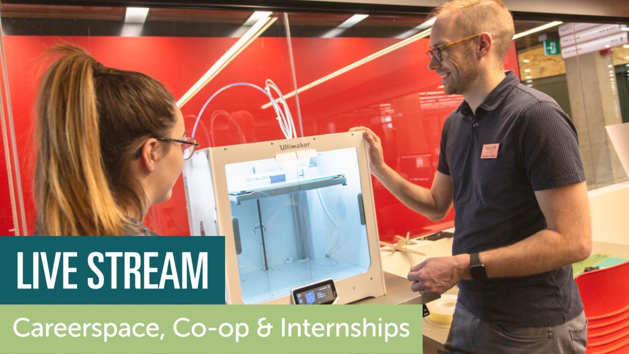 Live Stream Careerspace, Co-op & Internships