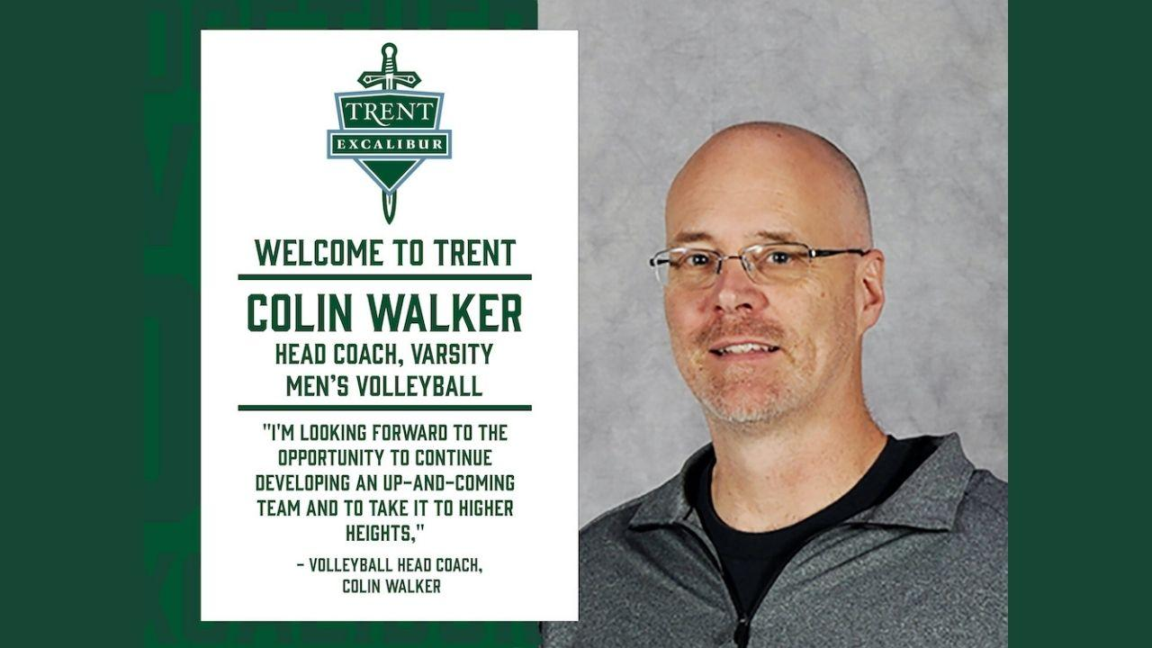 Welcome to Trent Colin Walker, Head Coach, Varsity Men's Volleyball.