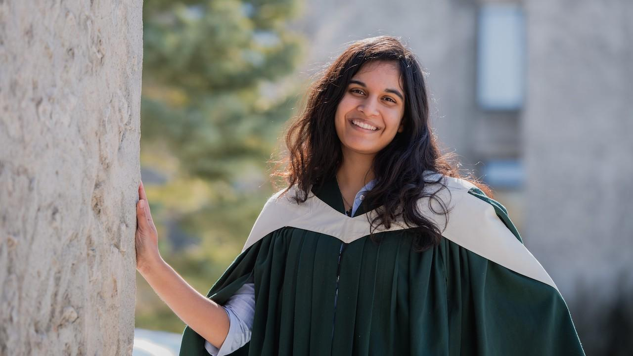 Trent Graduate Nikisha Thapar