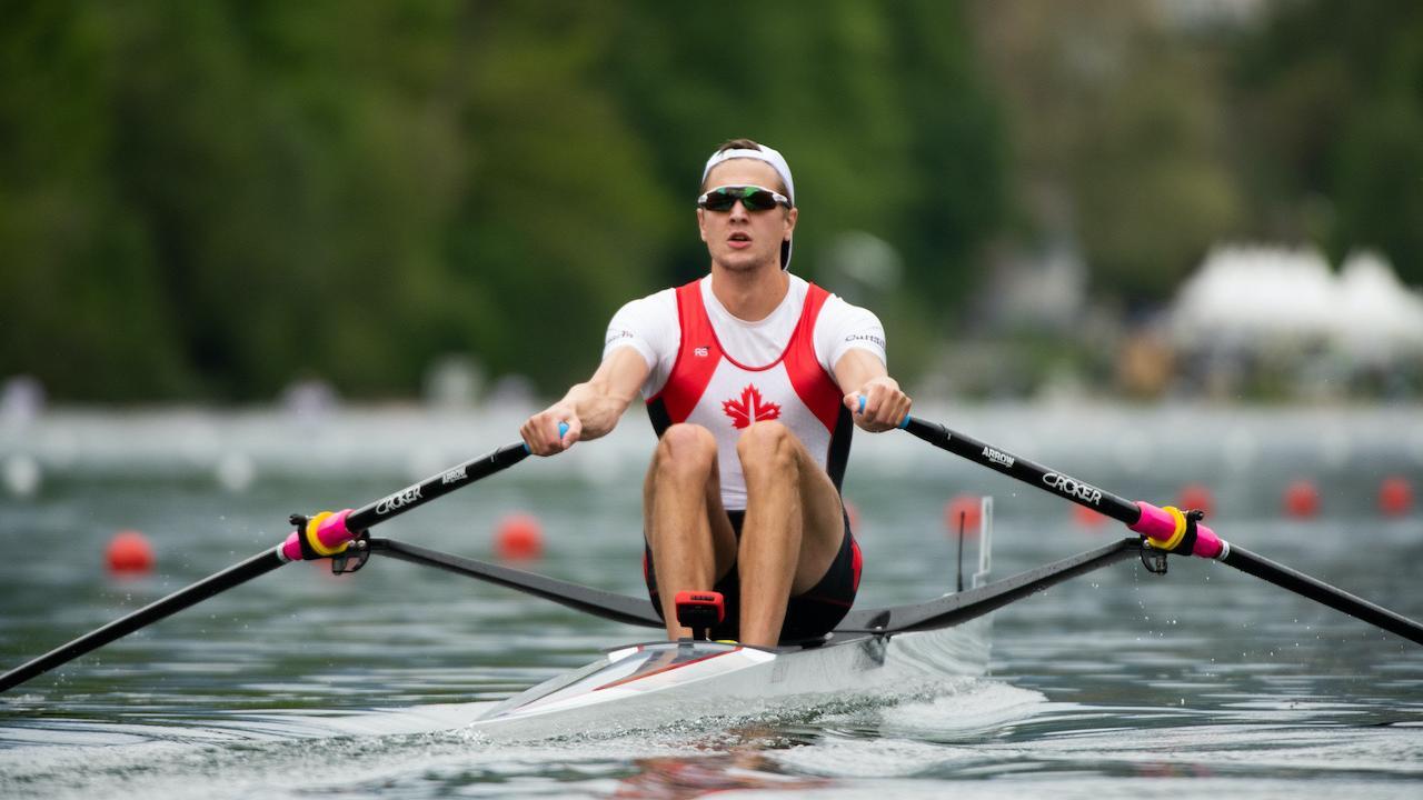 Former Trent Excalibur rowing team member Trevor Jones