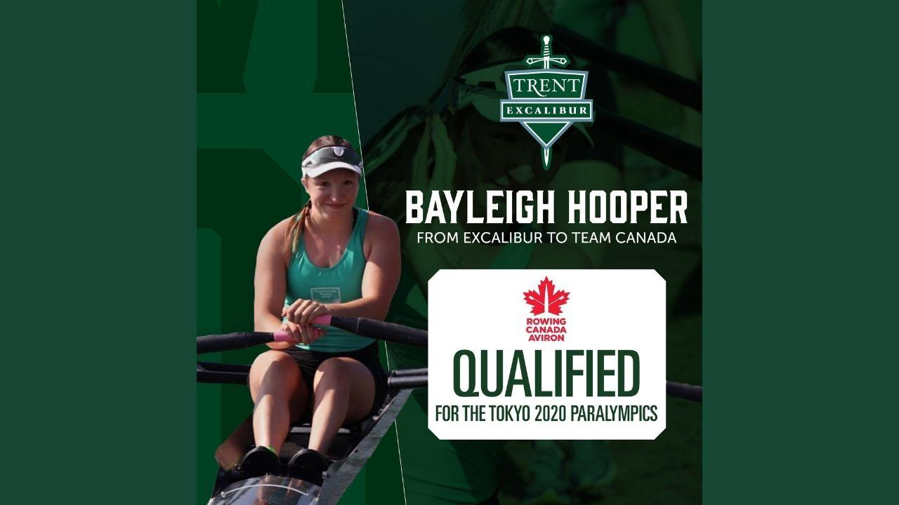 Bayleigh Hooper, Qualified for the Tokyo Paralympics
