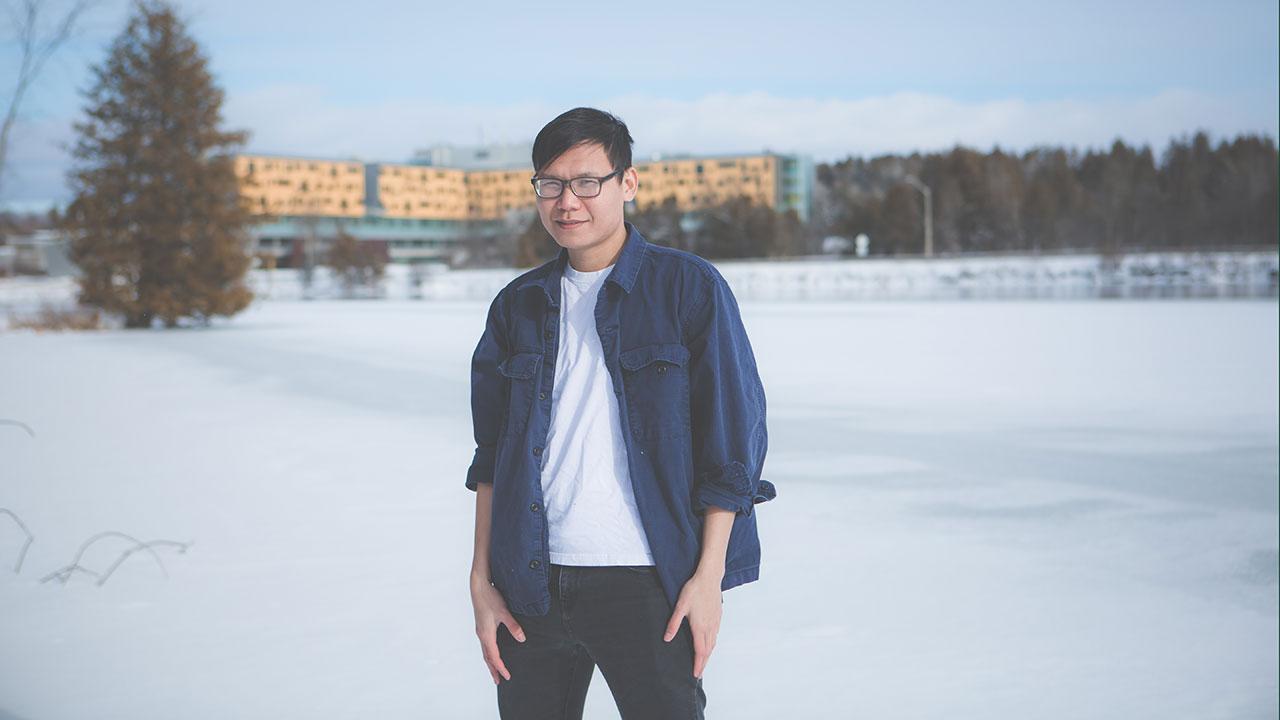 (ENLS) M.Sc. graduate student Hai Nguyen