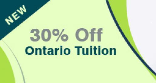 30 Per Cent Off Ontario Tuition Grants Available to Students
