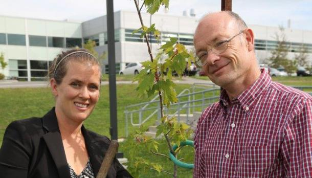 Shelley Strain, Sustainability Office and Shaun Watmough, School of the Environment