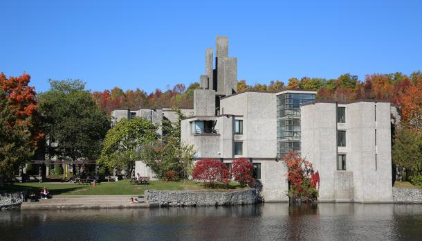 Champlain college in the fall