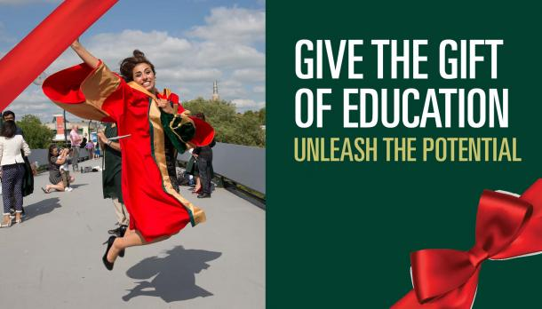 Give the gift of education, unleash the potential
