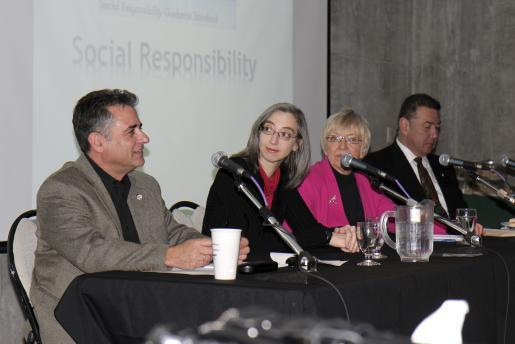 Panel on Corporate Social Responsibility Brings Unique Perspectives to the Table