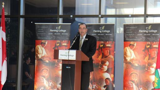 Trent President Dr. Steven E. Franklin