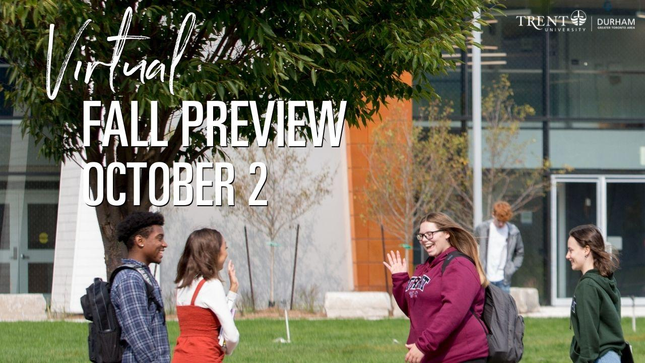 Virtual Fall Preview October 2