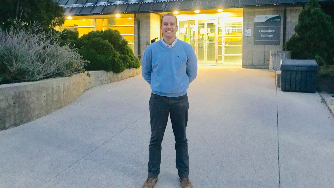 For Trent University faculty member and alumnus, Justin Heenan, his journey as an educator has been guided by passion.