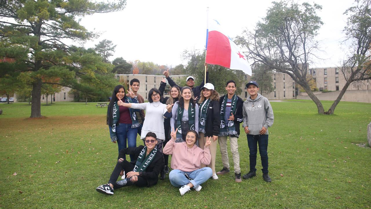 Embarking upon an exciting educational adventure in ESL, 13 scholars from Panama have been welcomed as some of Trent University's newest community members at the Symons campus.