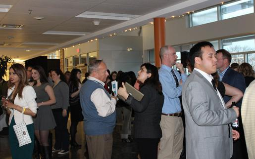 Students Hone Networking Skills at Career Gala 2015