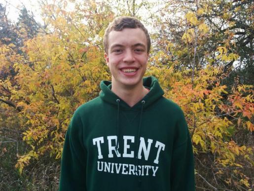 Scott Gardner, first-year Journalism student