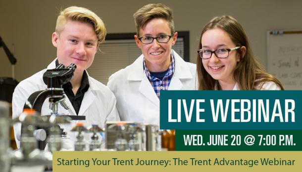 Starting Your Trent Journey: The Trent Advantage Webinar