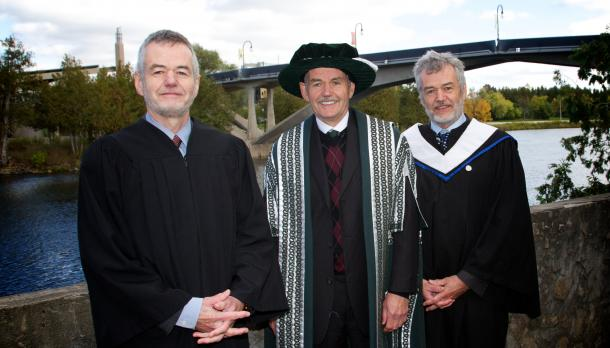 Trent's president named the endowment in honour of Louis and Paul Groarke, two brothers who also hold PhDs in Philosophy.
