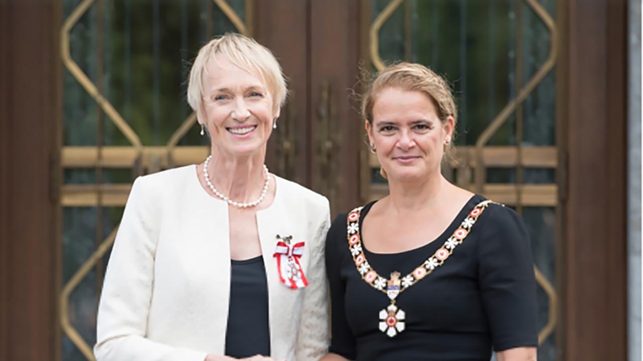 Alumna Cristl Verduyn '71 Named Member of the Order of Canada