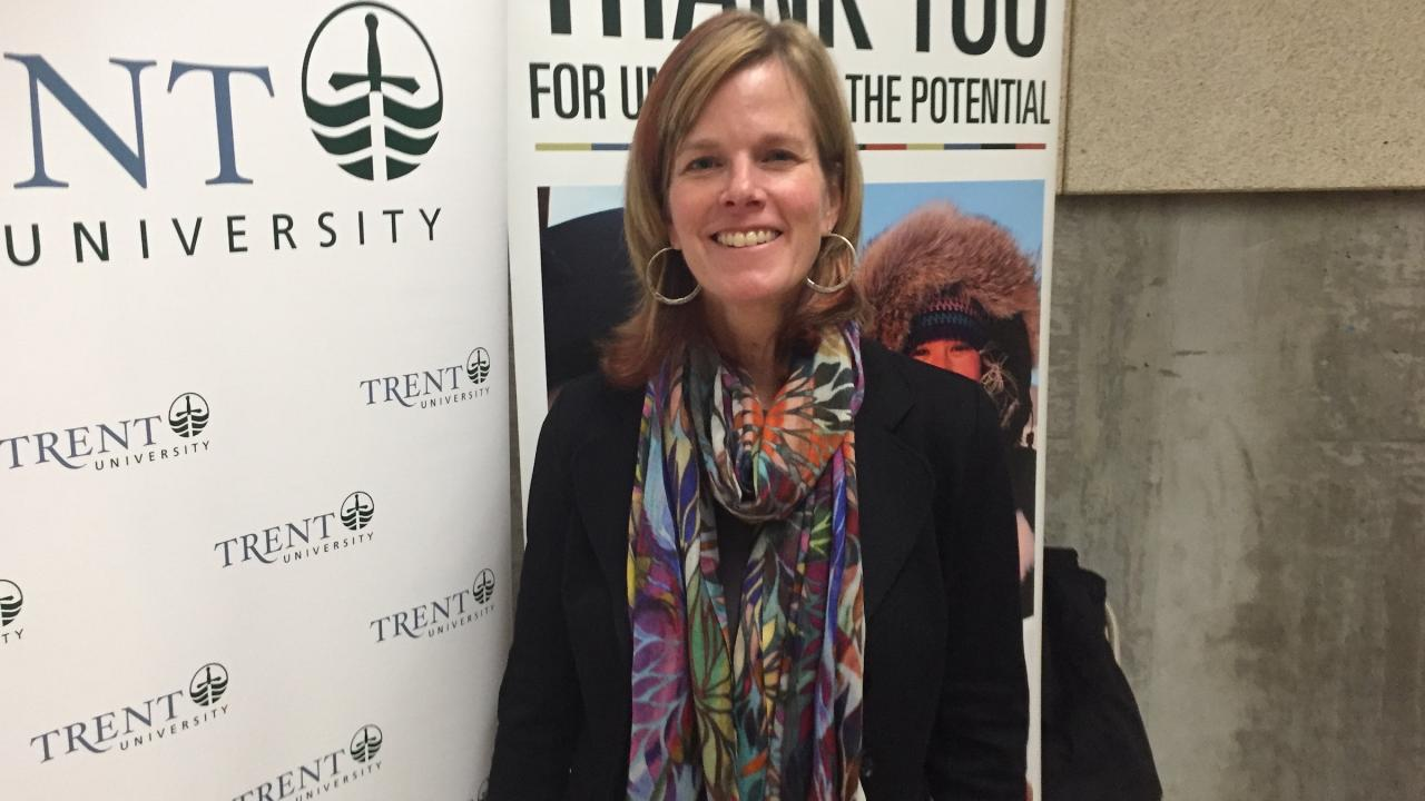 Trent University welcomed researcher Dr. Karen Kidd on November 19, 2018 during the Schindler Lecture in Aquatic Science