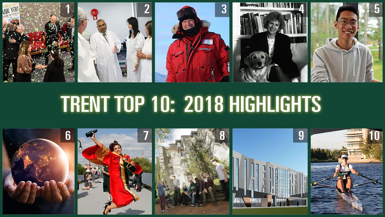 Trent Top 10: 2018 Highlights